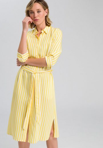 MARC AUREL Hemdblusenkleid im Streifen-Dessin