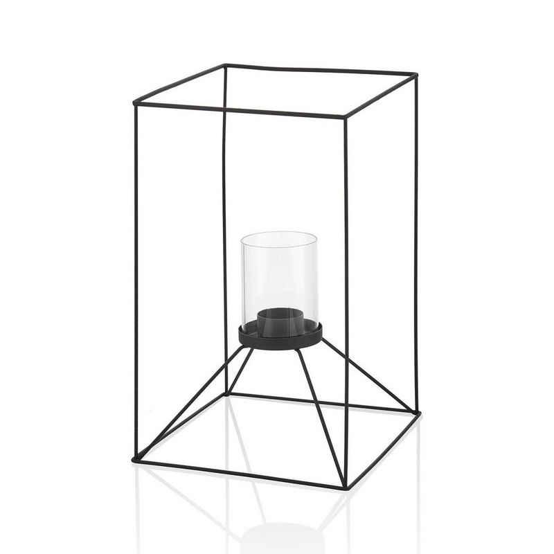 The Mia Teelichthalter »Kerzenhalter für Teelicht Metall - 20 x 32 cm«
