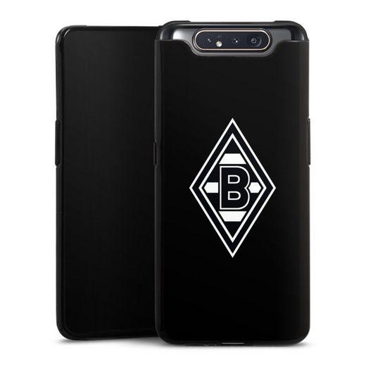 DeinDesign Handyhülle »Borussia Raute Schwarz« Samsung Galaxy A80, Hülle Wappen Borussia Mönchengladbach Gladbach