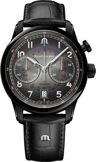MAURICE LACROIX Chronograph »Pontos Monopusher, PT6428-SS001-320-1«