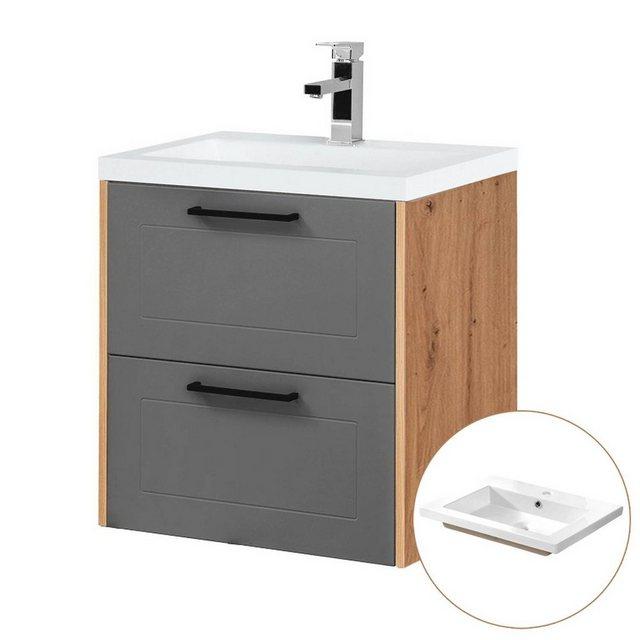 Waschtische - Lomadox Waschtisch »MATERA 56«  - Onlineshop OTTO