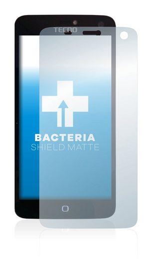 upscreen Schutzfolie »für Tecno Phantom Z«, Folie Schutzfolie matt entspiegelt antibakteriell