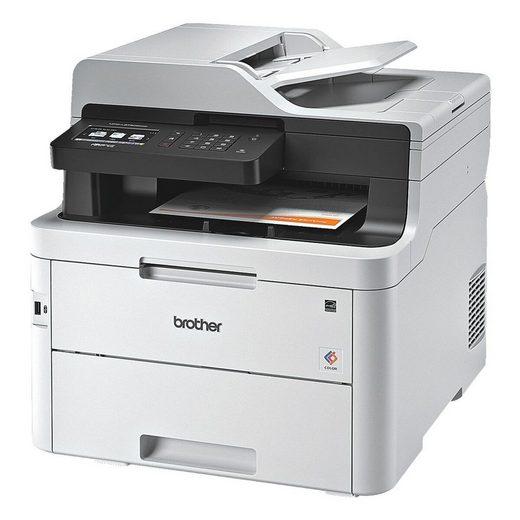 Brother MFC-L3750CDW Multifunktionsdrucker, (4-in-1, LAN- und WLAN-fähig)