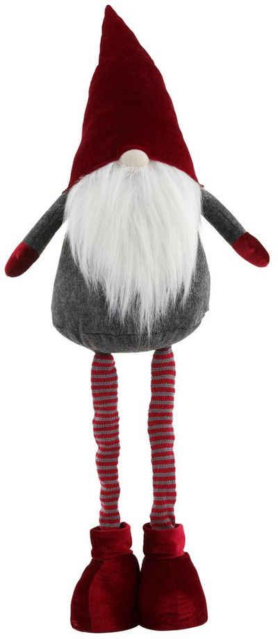 my home Weihnachtsfigur »Wichtel«, mit ausziehbaren Beinen, Höhe ca. 65 bis 95 cm