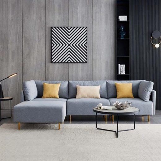 TOPMELON Ecksofa »Modernes Stoffsofa«, Sofa mit Bettfunktion