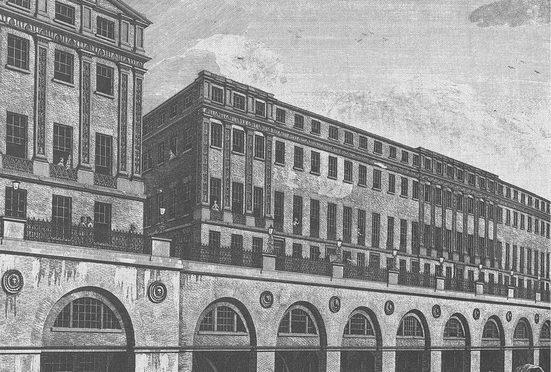 Architects Paper Fototapete »Atelier 47 Ancient Building 3«, glatt, Stadt, (4 St)