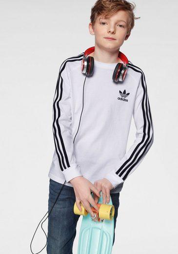 adidas Originals Langarmshirt »3 STRIPES LONGSLEEVE«