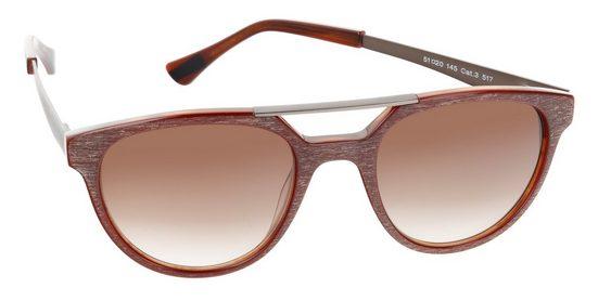 s.Oliver BLACK LABEL Sonnenbrille (Set, Sonnenbrille inkl. Etui) Federscharnier