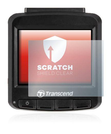 upscreen Schutzfolie »für Transcend DrivePro 230«, Folie Schutzfolie klar anti-scratch