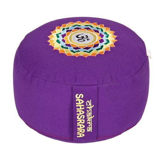 yogabox Yogakissen »Glückssitz Chakra«