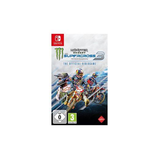 Nintendo Switch Monster Energy Supercross 3 - The Official V