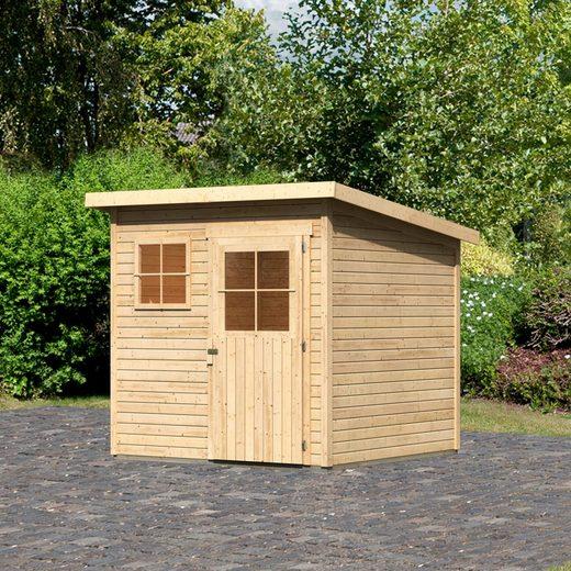 WOODFeeling Gartenhaus »Oranienburg 3«, BxT: 240x236 cm