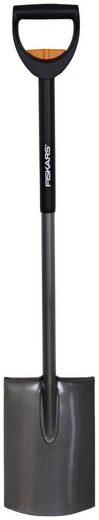 FISKARS Spaten , teleskopierbar, 105-125 cm Gesamtlänge