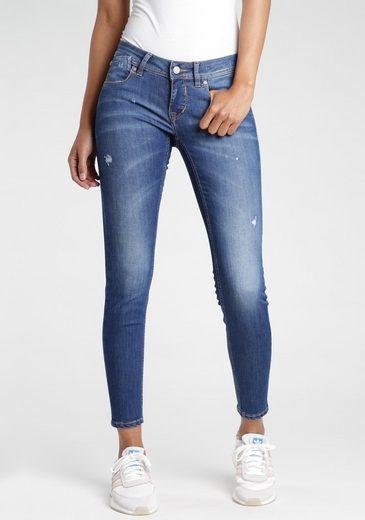 GANG Skinny-fit-Jeans mit Destroyed-Effekten