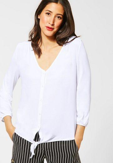 STREET ONE 3/4-Arm-Shirt in Blusen-Optik