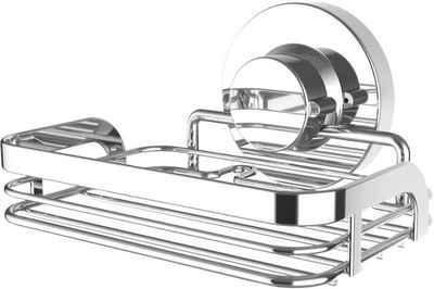 CORNAT Seifenkorb »3in1«, Breite: 9 cm, aus verchromtem Stahl