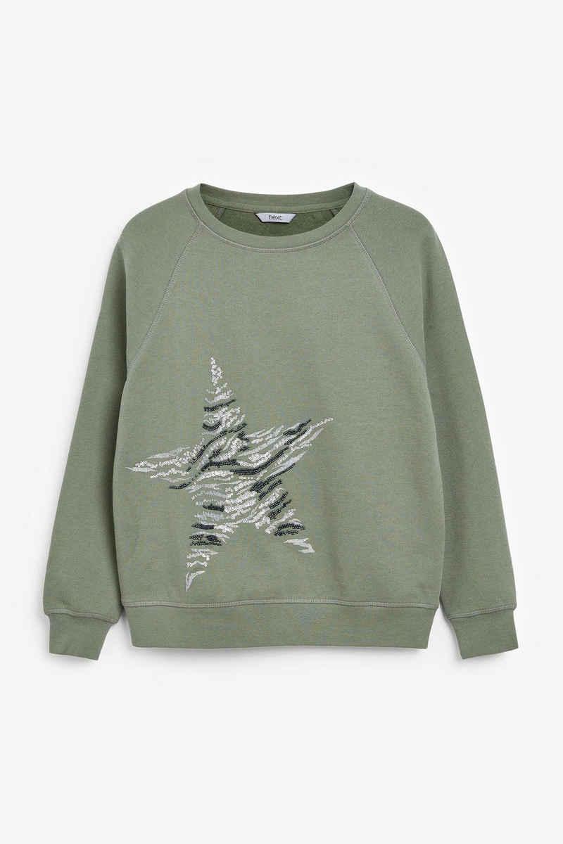 Next Sweatshirt »Grafik-Sweatshirt« (1-tlg)