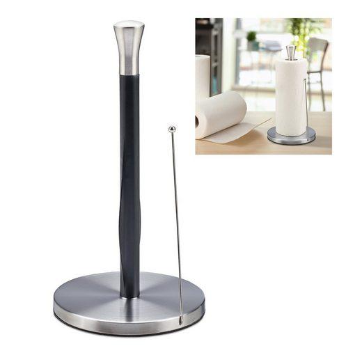 relaxdays Küchenrollenhalter »Küchenrollenhalter stehend«