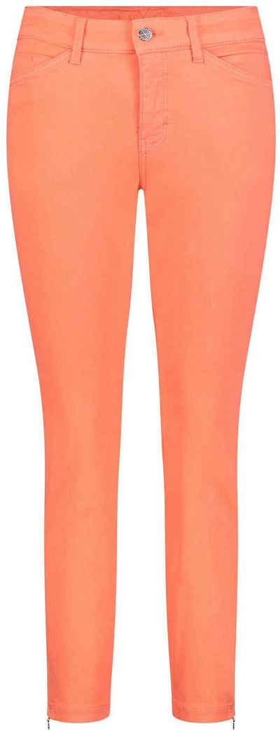 MAC 7/8-Jeans »Dream Chic« Verkürzte Form mit Reißverschluss am Saum