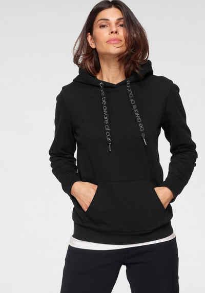 OTTO products Kapuzensweatshirt »HOODIE« GOTS zertifiziert - nachhaltig aus Bio-Baumwolle - NEUE KOLLEKTION