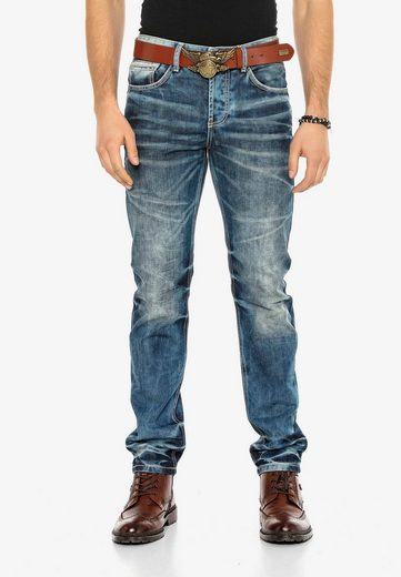Cipo & Baxx Bequeme Jeans »Justice« in Regular Fit