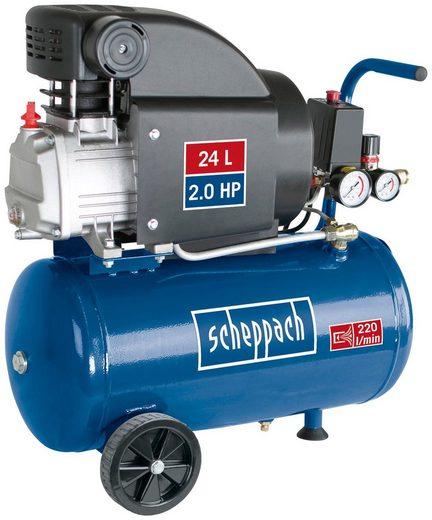 SCHEPPACH Kompressor »HC25«, 230V 50Hz 1100W - 24L