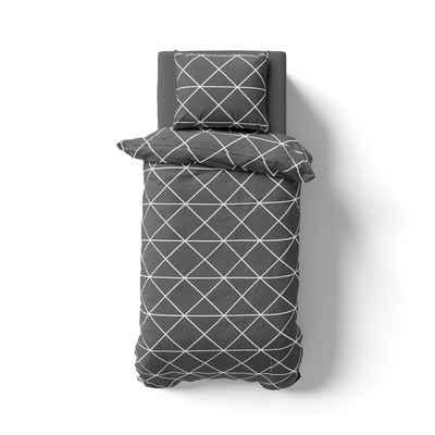 Bettwäsche »Renforcé Bettwäsche - Für Allergiker geeignet & in vielen verschiedenen Farben, Größen und Designs«, Hometex Premium Textiles