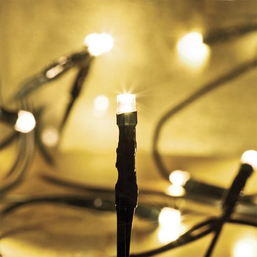 matches21 HOME & HOBBY LED-Lichterkette »Lichterkette Mini LED 20-flammig warmweiß«, 20-flammig