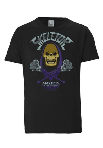 LOGOSHIRT T-Shirt mit großem Masters Of The Universe-Print »Skeletor«
