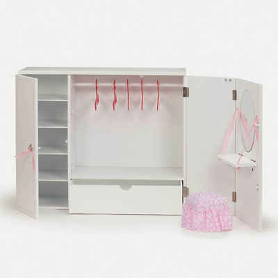 Our Generation Puppenhausmöbel »Kleiderschrank aus Holz«