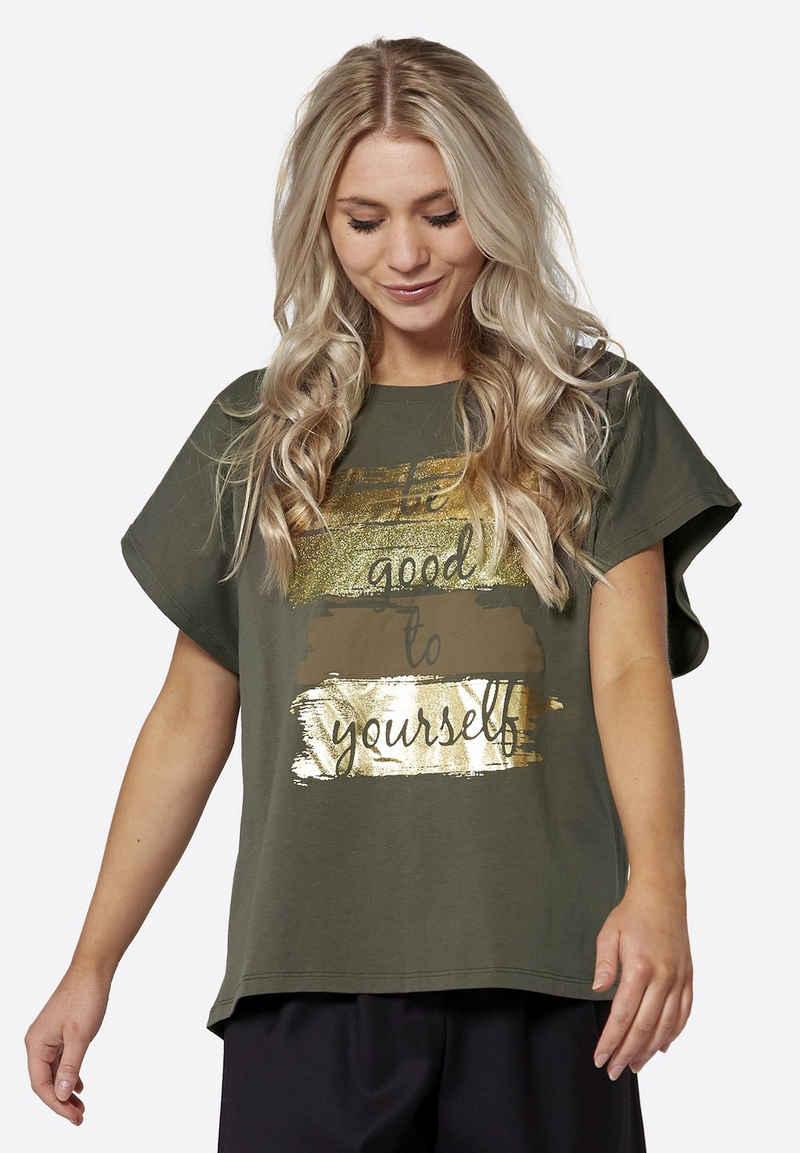 NÜ T-Shirt »Agnes« Cooler Print auf der Vorderseite