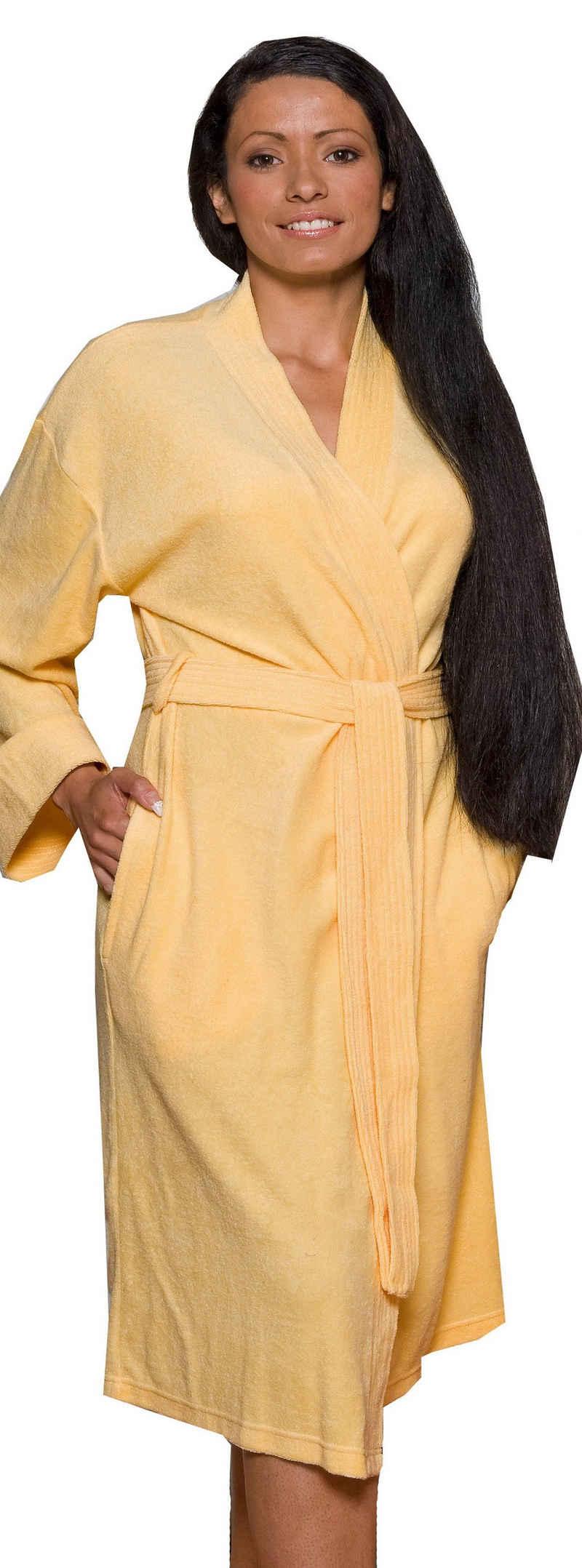 Bademantel »Jersey«, Lashuma, - der leichte Bademantel für Frauen