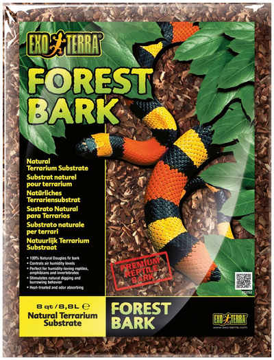 Exo Terra Terrarien-Substrat »Forest Bark Waldrinde«, 8,8 l