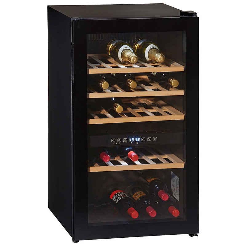 Wolkenstein Weintemperierschrank WTS49DW,Weinkühlschrank Weinkühler 49 Flaschen 116 L