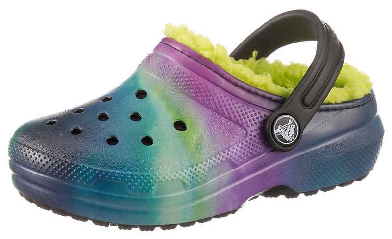 Crocs »Classic Lined« Clog mit buntem Muster