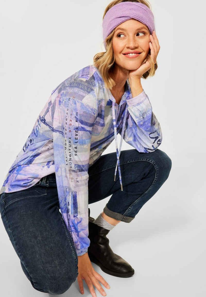 Cecil Langarmshirt im Tunika-Style