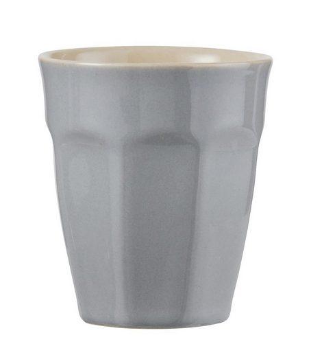 "Ib Laursen Tasse »Ib Laursen - Becher ""Mynte"" 0,25l (2042) Cafe Latte Becher Kaffee Tasse Farbe: french grau - 18«"