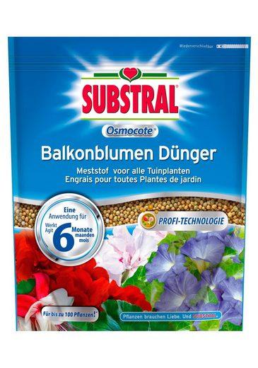SUBSTRAL Langzeitdünger »OSMOCOTE Balkonblumen Dünger«