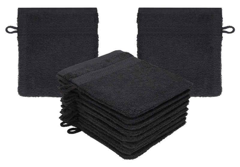 Betz Waschhandschuh »10 Stück Waschhandschuhe Set Waschlappen Waschhandschuh Frottee PREMIUM Größe 16x21 cm Kordelaufhänger 100% Baumwolle« (10-tlg)