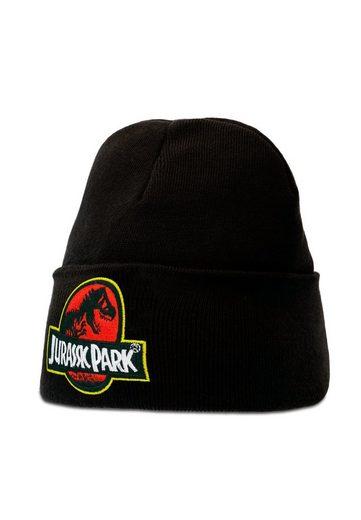 LOGOSHIRT Strickmütze »Jurassic Park« mit lizenziertem Design