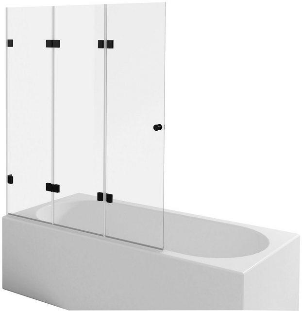 Badewannen und Whirlpools - MARWELL Komplett Set Badewannenfaltwand »GALLERY«, einflügelig, zweiflügelig o. dreiflügelig  - Onlineshop OTTO