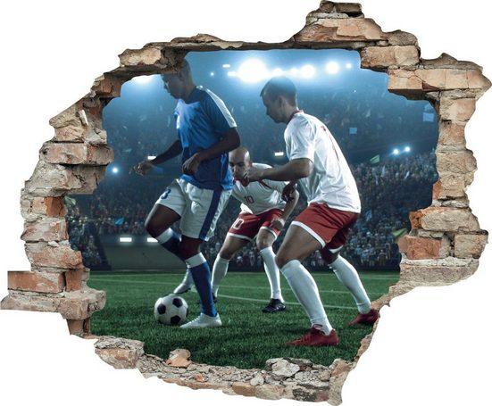 queence Wandtattoo »Fußball« (1 Stück)