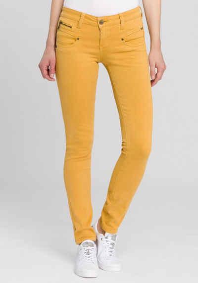 Freeman T. Porter Slim-fit-Jeans »Alexa« mit vielen Dekor-Elementen