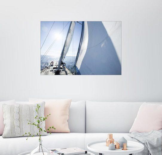 Posterlounge Wandbild, Der Segelturn