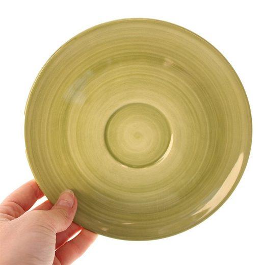 Zeller Keramik Untertasse »Cup-Untertasse Ono Zoom Cup-Untertasse Ono Zoom«, (1 Stück)