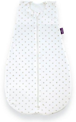 Träumeland Babyschlafsack »Sommerschlafsack LIEBMICH Baumwolle, Design Sternchen grau« (1 tlg)