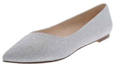 Buffalo »RENEE Silver Damen Ballerina Silber« Ballerina