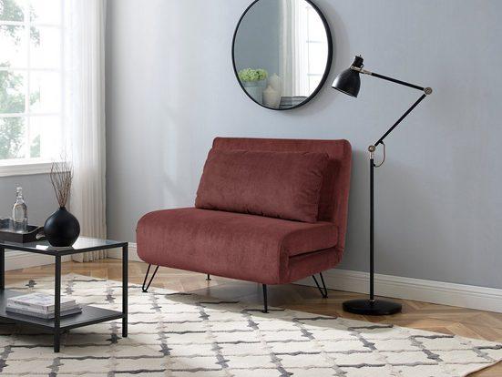 my home Daybett »Romina«, mit Schlaffunktion, verschiede Farben und Qualitäten erhältlich