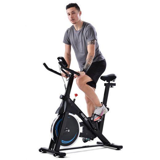 Merax Speedbike »Apollo«, Indoor Cycle Bike mit 8KG Schwungrad, Heimtrainer Fahrrad mit LCD Display