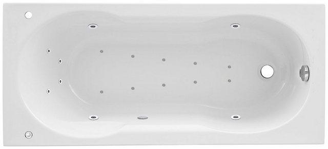 Badewannen und Whirlpools - OTTOFOND Whirlpool Badewanne »Julia«, (Komplett Set, 3 tlg), Typ 2, chrom  - Onlineshop OTTO